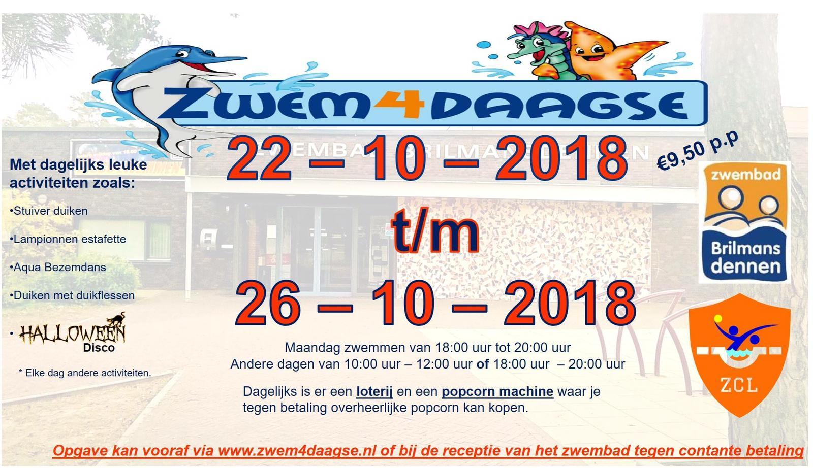 Zwem4daagse 2018
